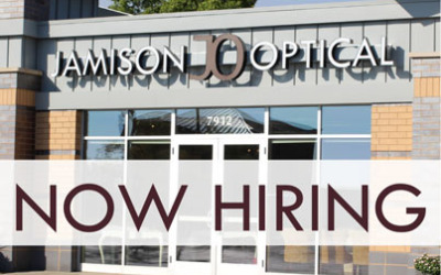 Now Hiring Full Time Optician