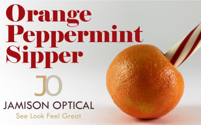 Orange Peppermint Sipper