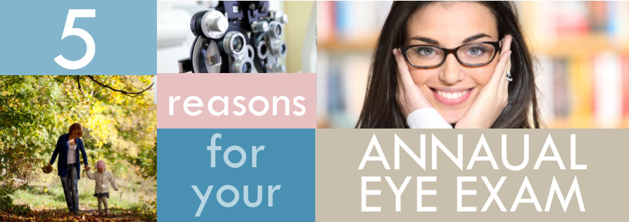 5 Reasons to Get an Annual Eye Exam