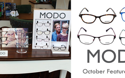 Jamison Optical is Featuring MODO Frames for the Month of October