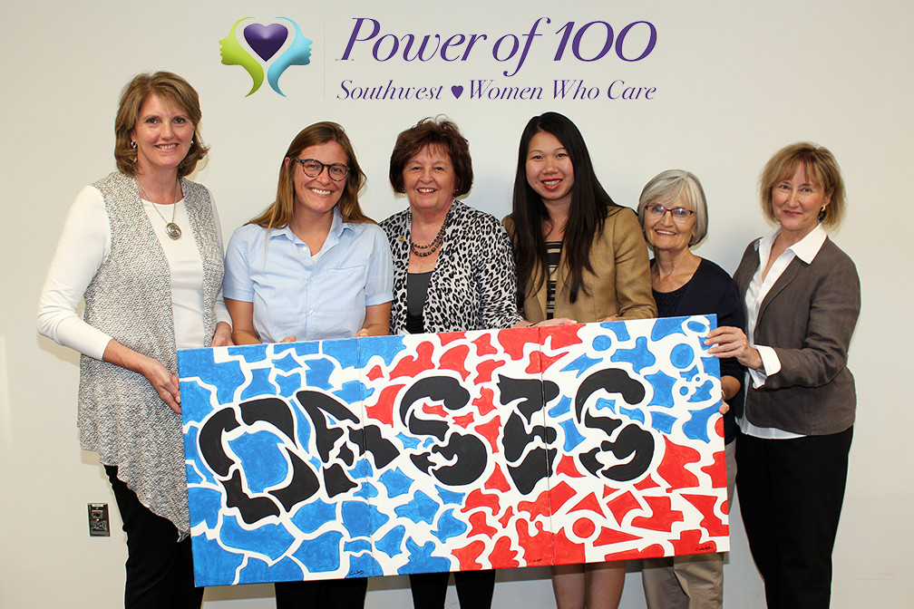 Dr. Jamison's Non-Profit Power of 100 Southwest donates $13,050 to Oasis for Youth
