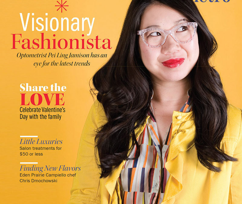 Eden Prairie Optometrist Pei Ling Jamison in Southwest Magazine