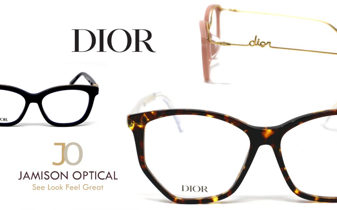 Dior's newest eyewear collection just arrived.